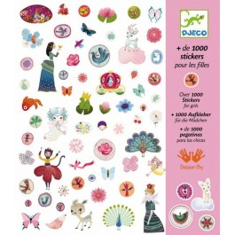 Set 1000 stickers - For Girls