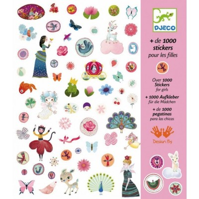 Σετ με 1000 stickers - For Girls