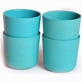 Bambino Set of 4 Cups - Lagoon