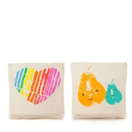 Organic Cotton Snack Pack Set - Mama Loves