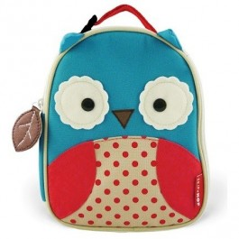 Zoo Lunchie Owl - Insulated Lunch Bag