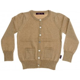 Sparkle Cardigan - Gold