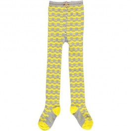 Tights Mini Yellow Check