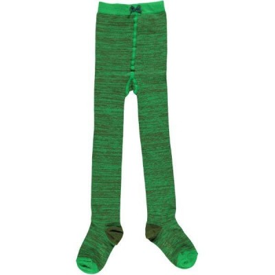Tights Green Melange
