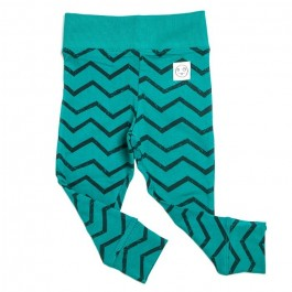 Legging Green - Chevron
