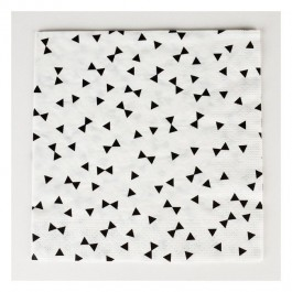 Napkins with Black Knots