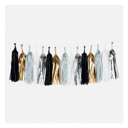 Garland Tassel - Black