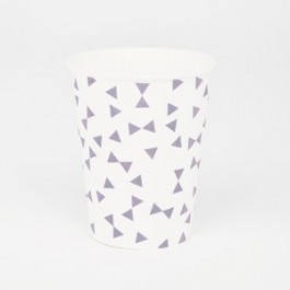 Cups in Purple Knots