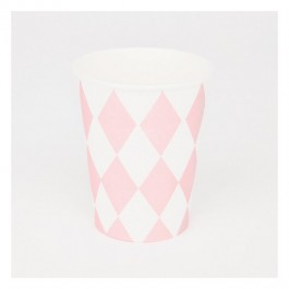 Cups in Pink Diamonds