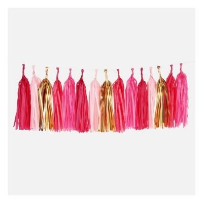 Garland Tassel - Pink
