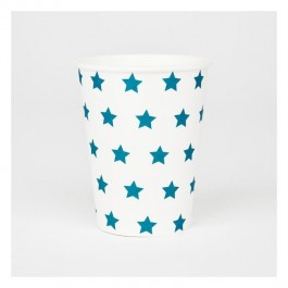 Cups with Blue Stars