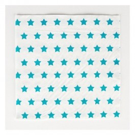 Napkins with Blue Stars