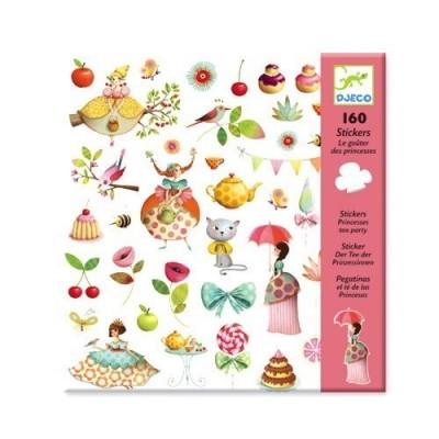 Σετ με 160 stickers - Tea Party