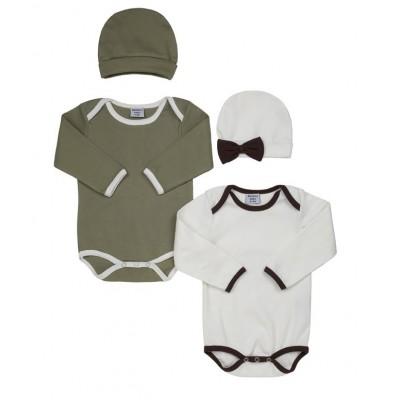 Bamboo Bodysuit and cap
