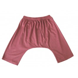 Παντελόνι ροζ με γκρι ρίγες