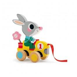 Ξύλινη τρεχαλίτσα Roulapic the Rabbit