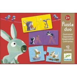 Puzzle Duo Opposites - Τα αντίθετα