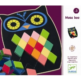Ψηφιδωτή Κουκουβάγια - Mosa Boo