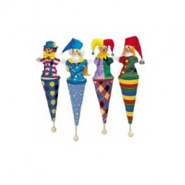Pop up Puppets in various colours