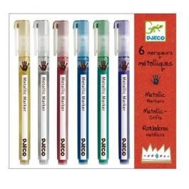 Metallic Markers - Μεταλλικοί μαρκαδόροι