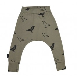 Baggy Pants Grey - Black Raven