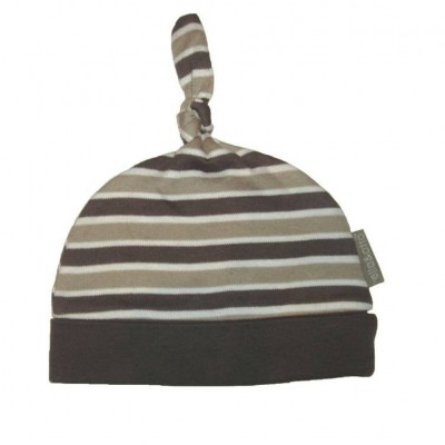 Organic Knotted Hat STRIPES