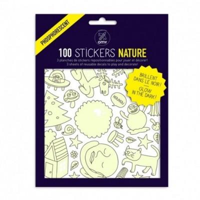 Stickers Nature - Glow in the dark
