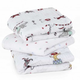 Musy Swaddle Vintage Circus- 3 Pack