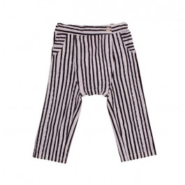 Harem Pants with black stripes