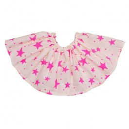 Full Skirt Pink Stars