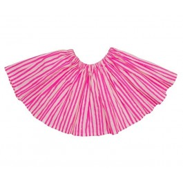 Full Skirt Pink Stripes