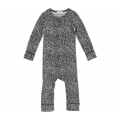 Leo Suit Leopard - Grey