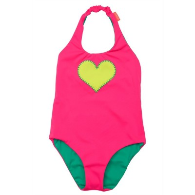 Reversible Heart Swimsuit