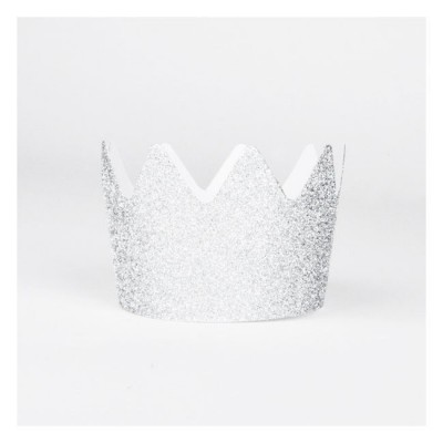 Glitter Crowns Silver