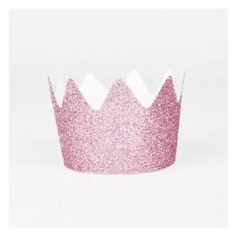 Glitter Crowns Pink