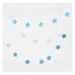 Star Garland Glitter
