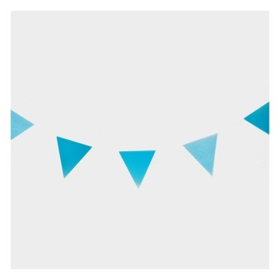 Blue Garland Flags