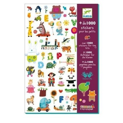 Σετ με 1000 stickers - For Boys