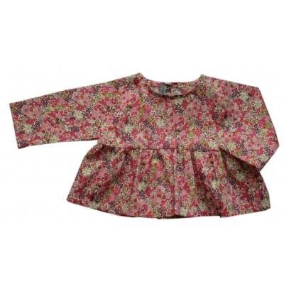 Μπλούζα BALI με λουλούδια