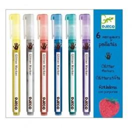 Μαρκαδόροι Glitter - Glitter Markers