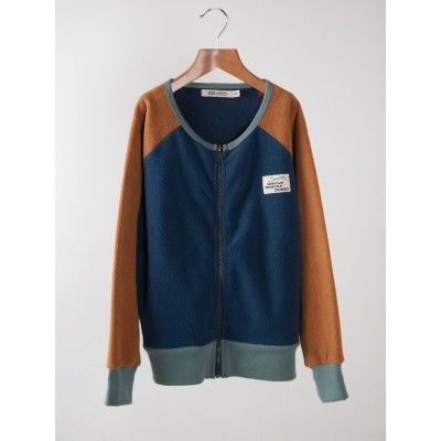 Sweatshirt Blue Zip