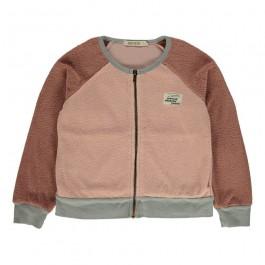 Sweatshirt Pink Zip