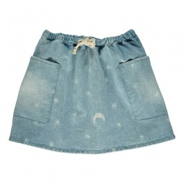 Denim Skirt Stars