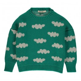 Pullover Jacquard Clouds