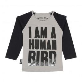 T-Shirt Human Bird