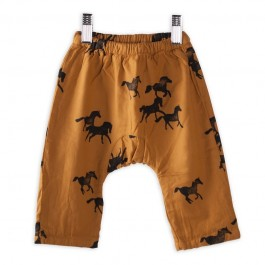 Baby Trousers Horses - Praline