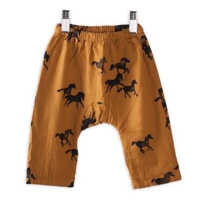 Baby Trousers Horses - Praline