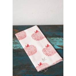 Hand Towel Apple - Bobo Choses Maison