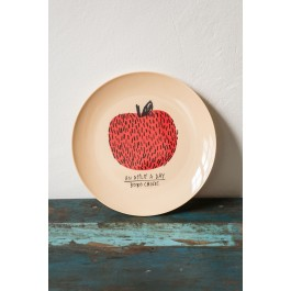 Melamine Plate Apple - Bobo Choses Maison