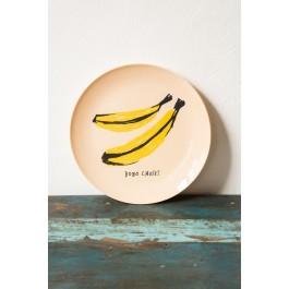 Melamine Plate Banana - Bobo Choses Maison